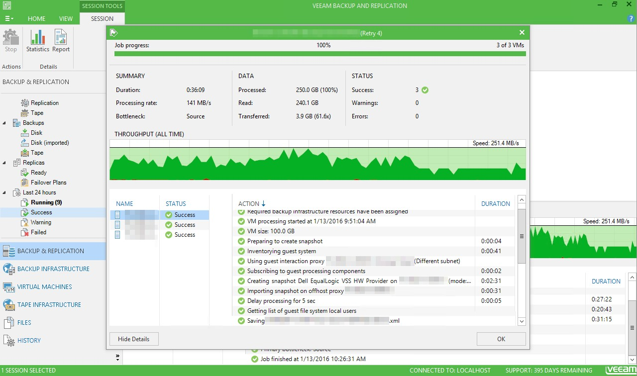 Veeam B&R V9 – Timed Out Waiting For Guest Interaction Proxy