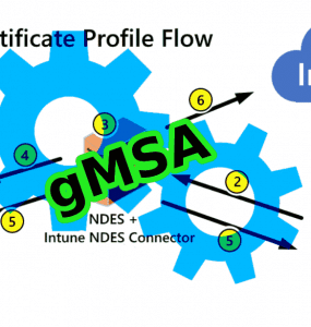 using gmsa with ndes